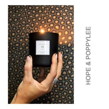 Hope & PoppyLee Soy Candle